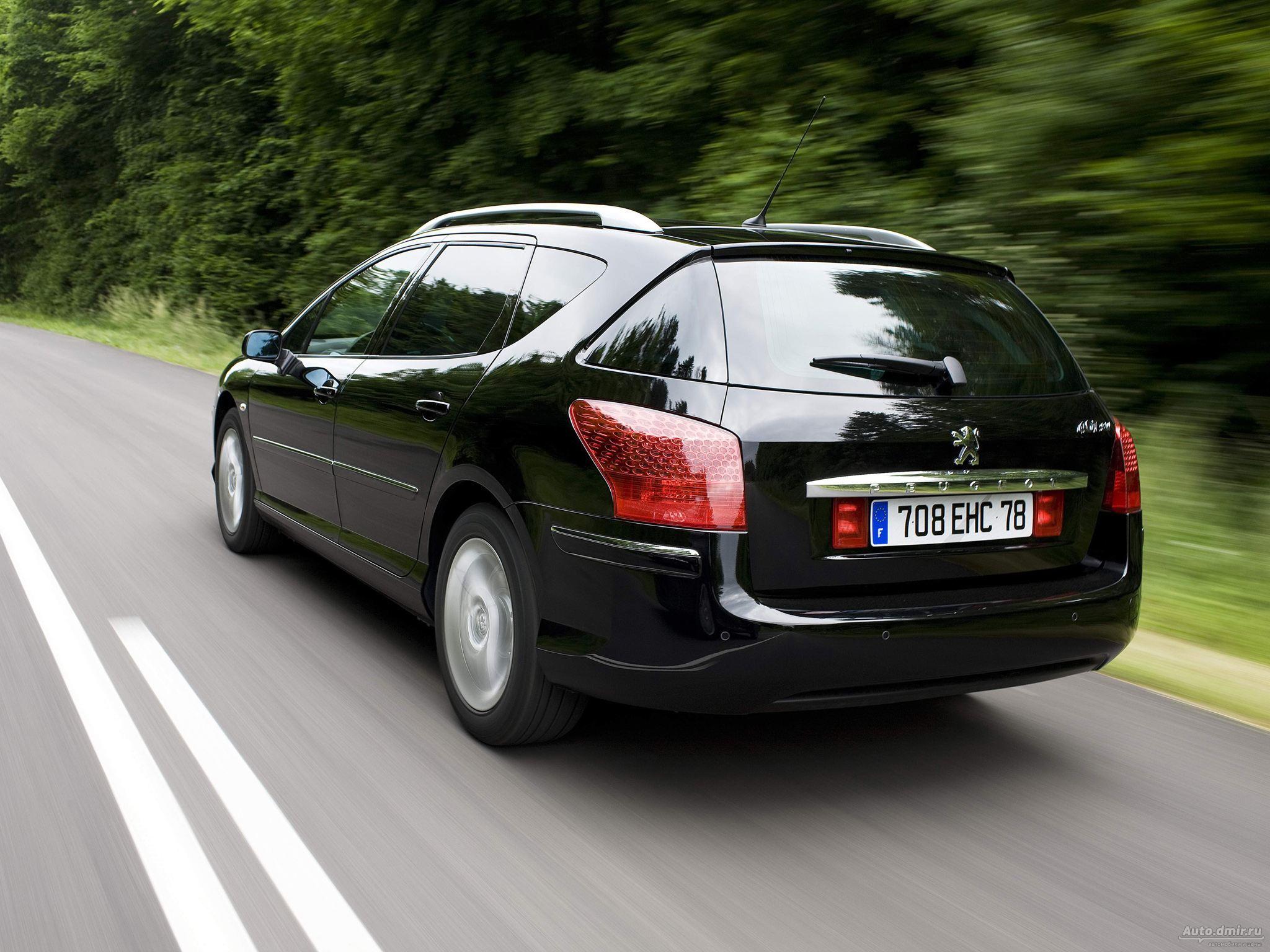 Peugeot 407 — описание модели