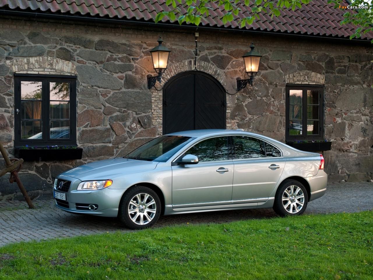 Volvo S80 — описание модели