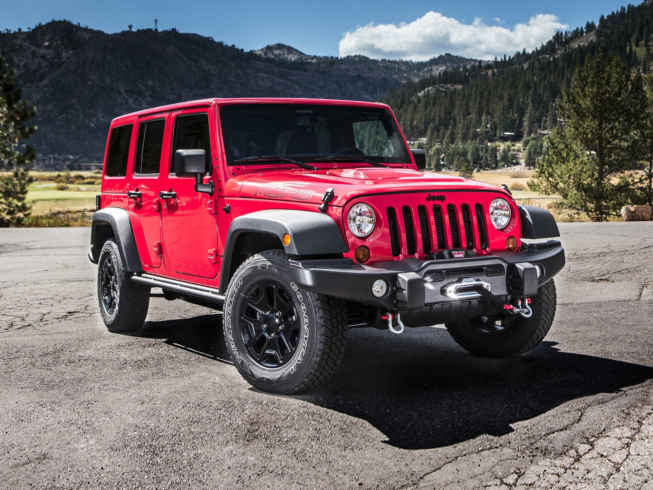 Jeep Wrangler I-II — описание модели