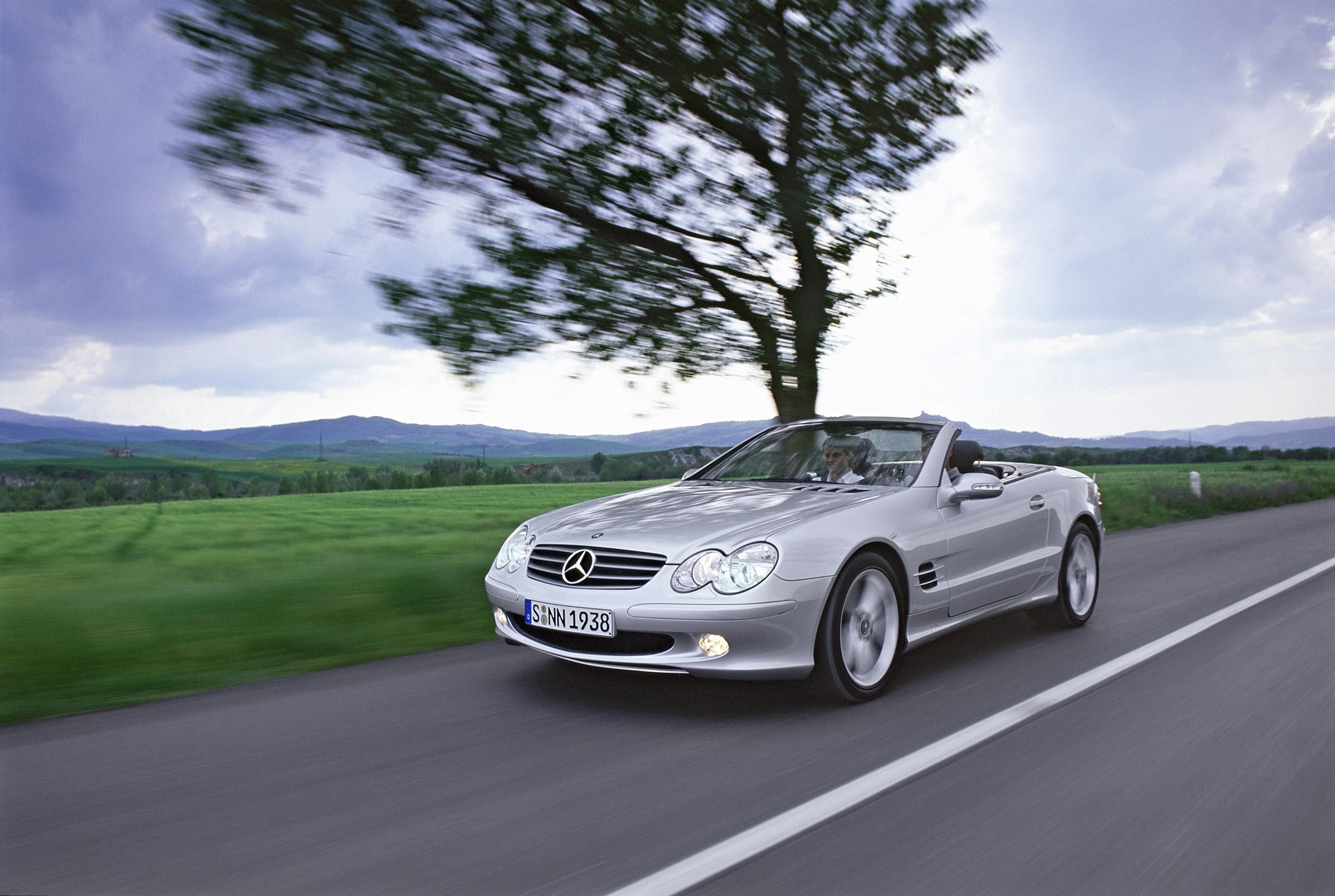 Mercedes-Benz SL-Class (R230) — описание модели