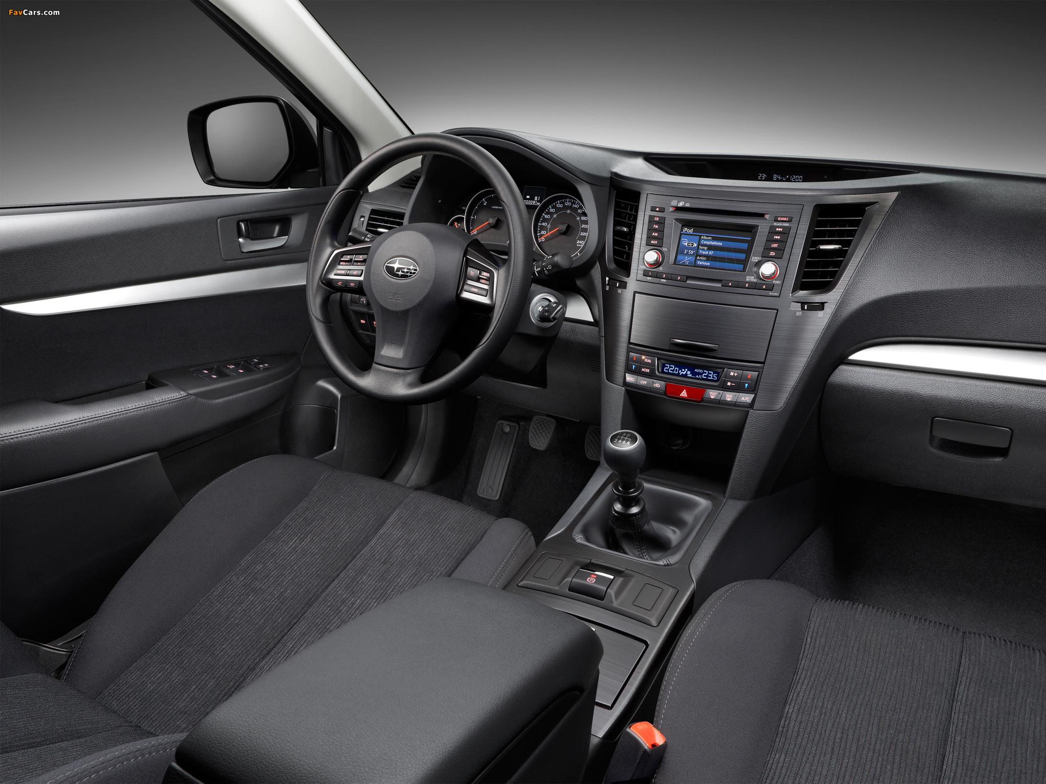 Subaru Legacy V — описание модели