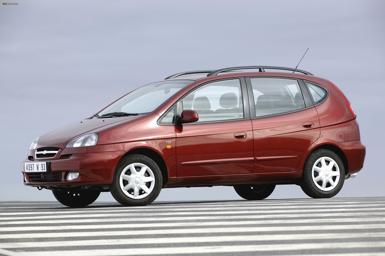 Chevrolet Rezzo — описание модели