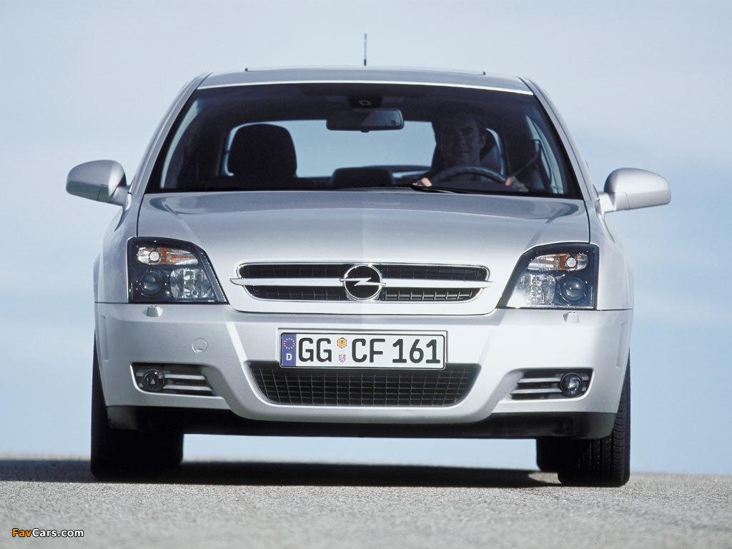 Opel Vectra C — описание модели