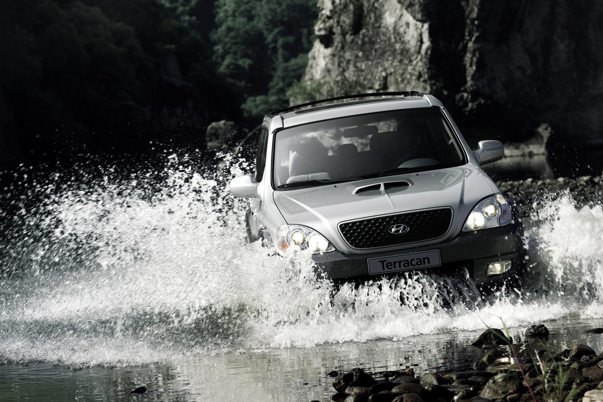 Hyundai Terracan — описание модели