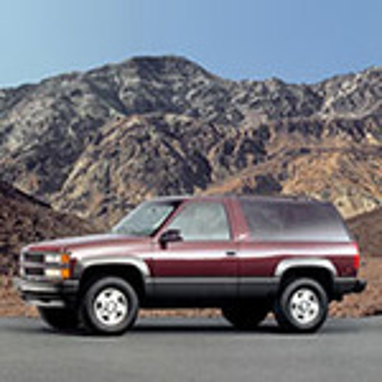 Chevrolet Tahoe (GMT 410) — описание модели фото