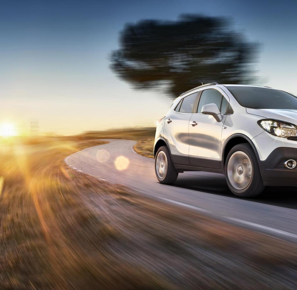 Opel Mokka — описание модели фото