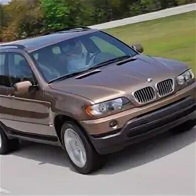 BMW X5 (E53) — описание модели фото