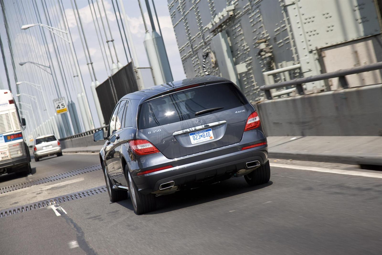 Mercedes-Benz R-Class — описание модели