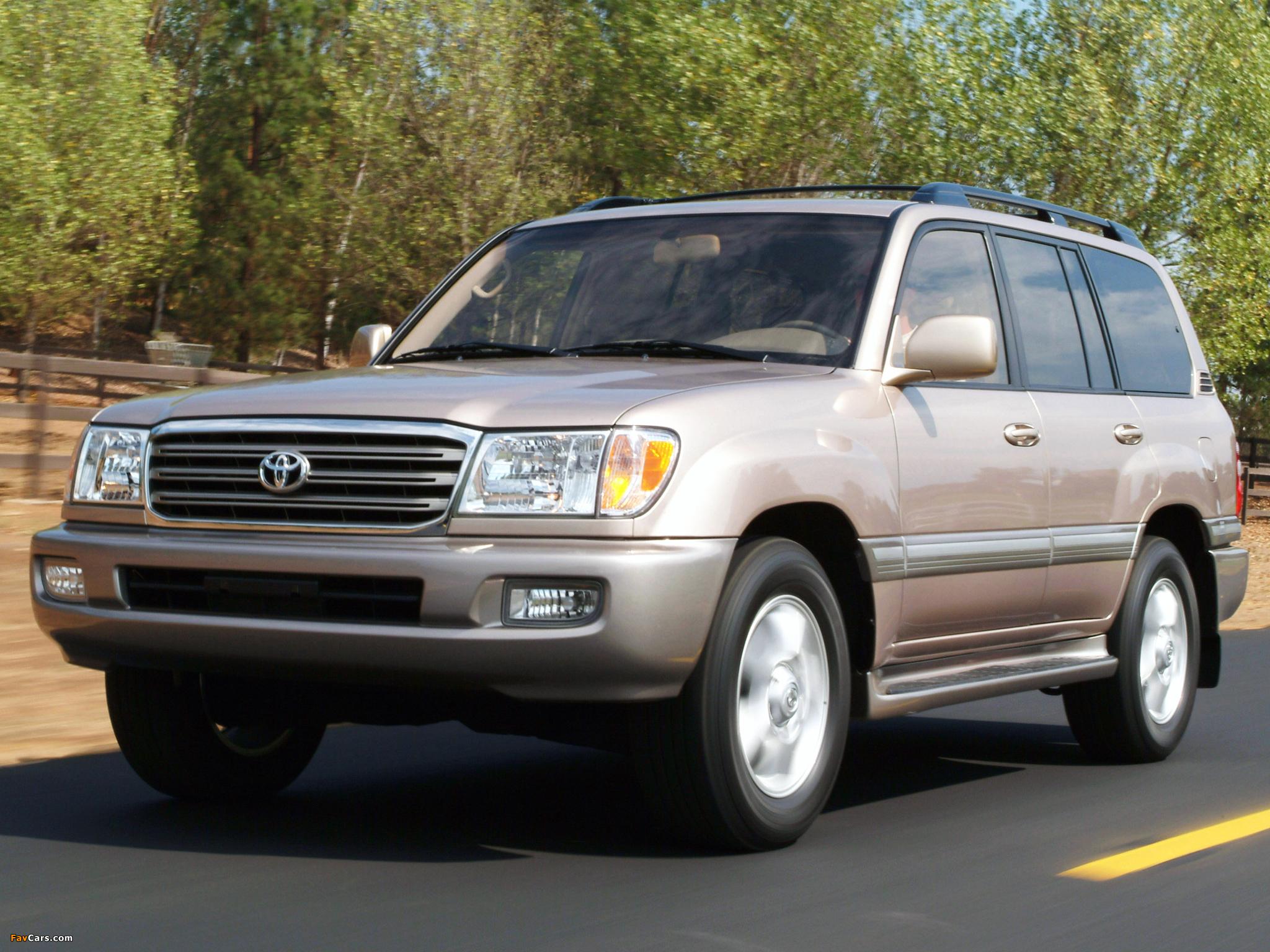 Toyota Land Cruiser 100 — описание модели