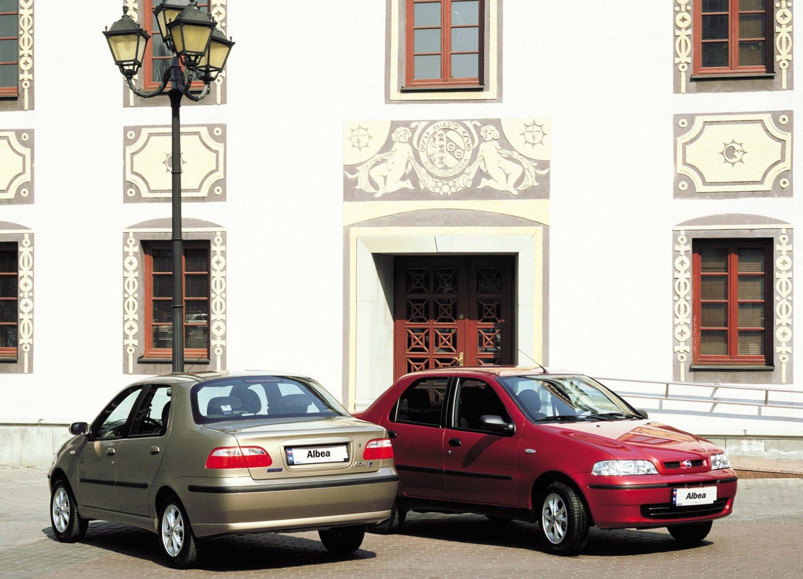 FIAT Albea — описание модели