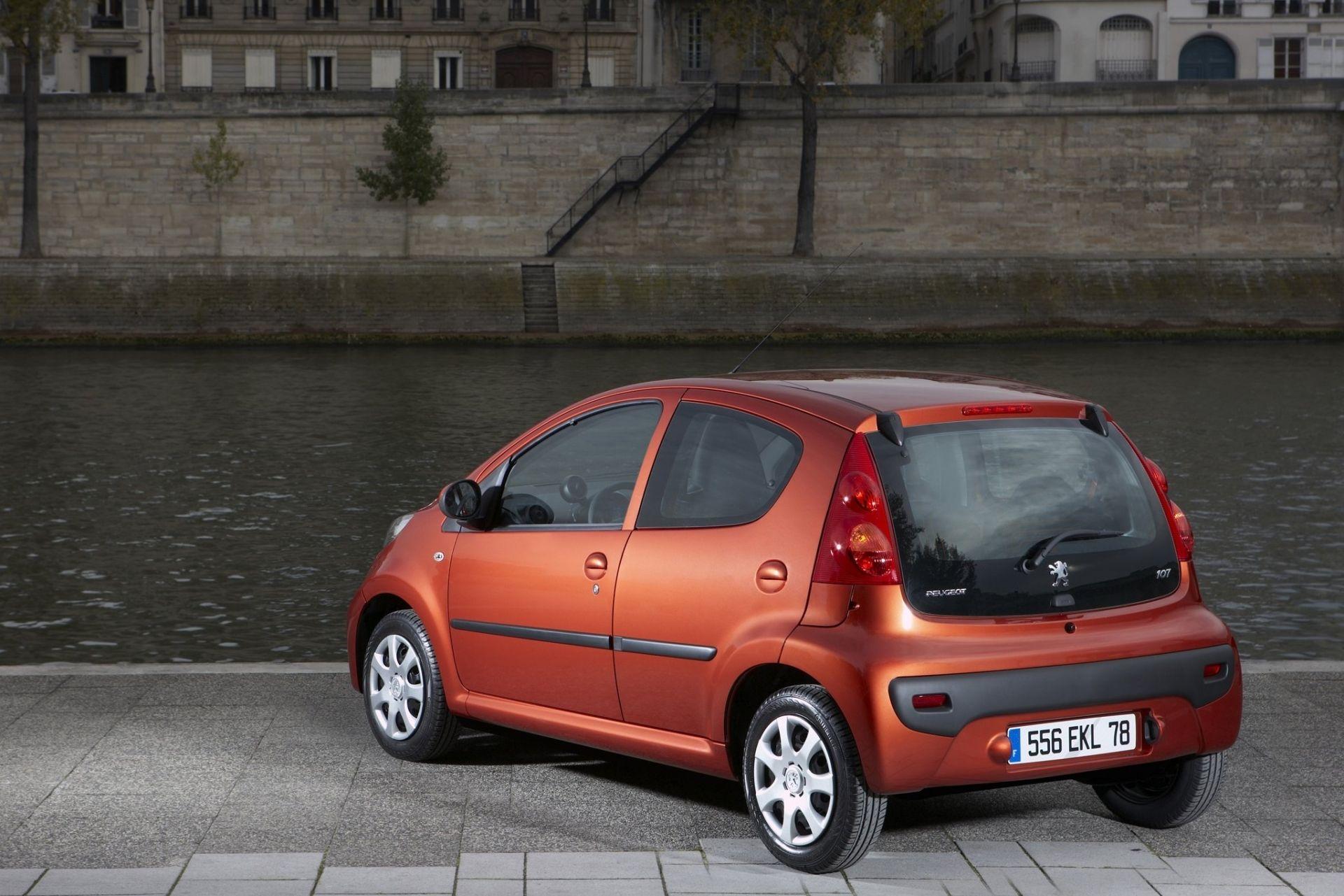 Peugeot 107 — описание модели