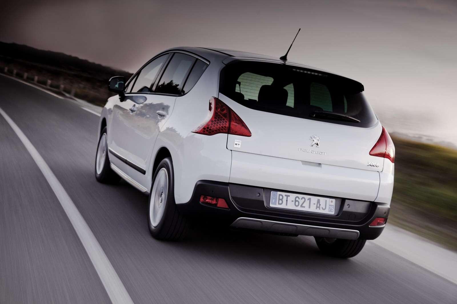 Peugeot 3008 — описание модели