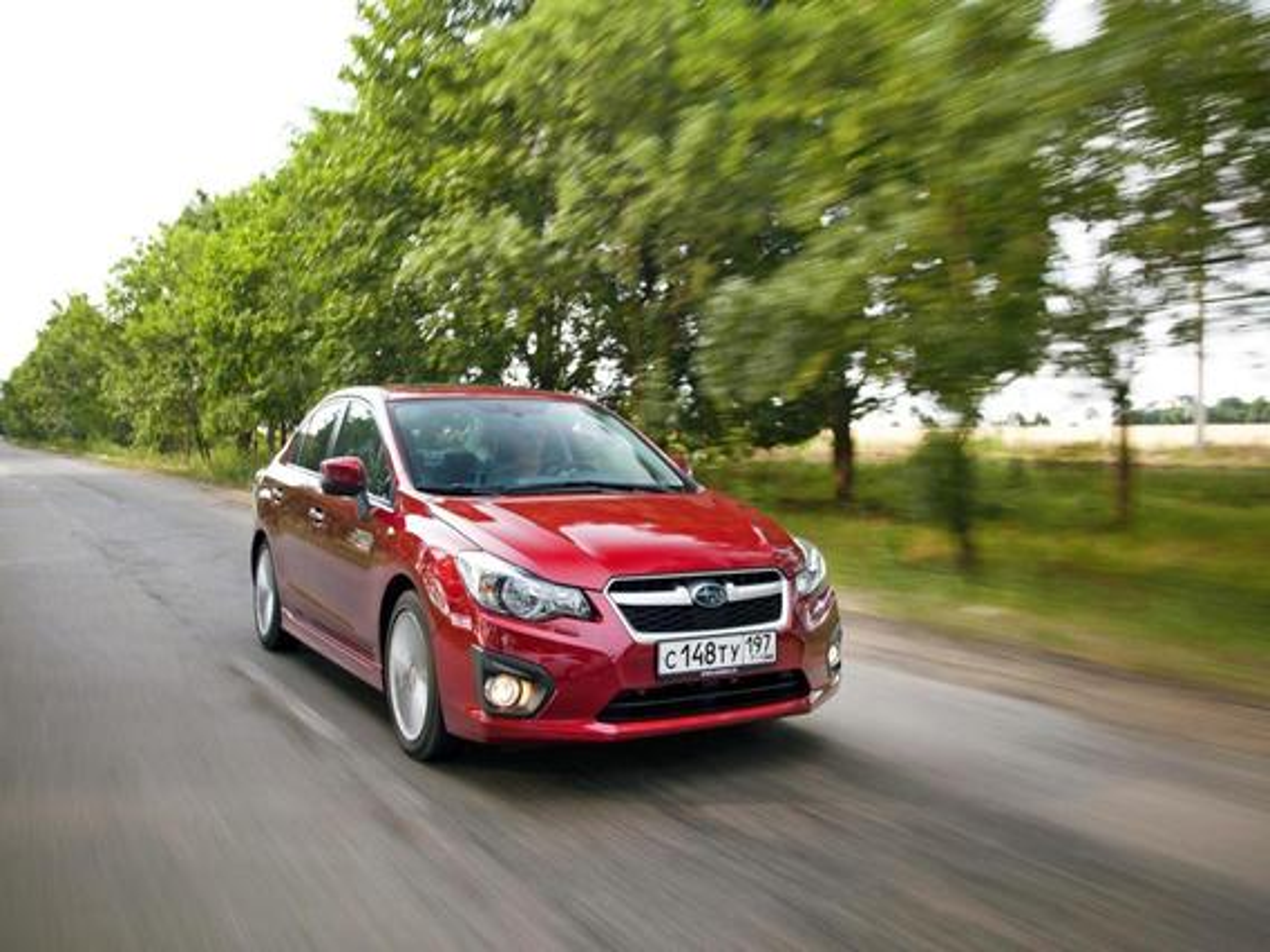 Subaru Impreza IV — описание модели