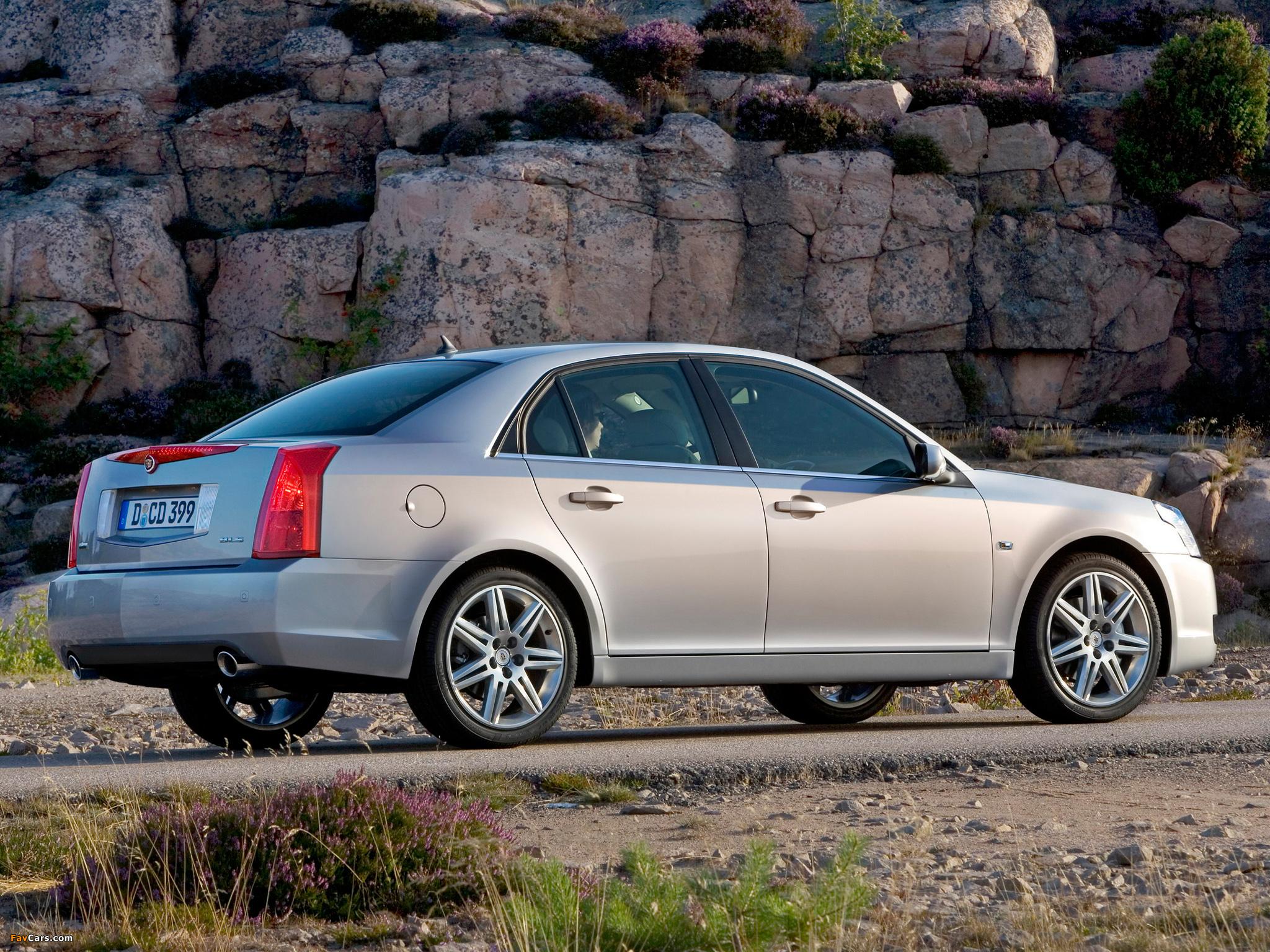Cadillac BLS — описание модели