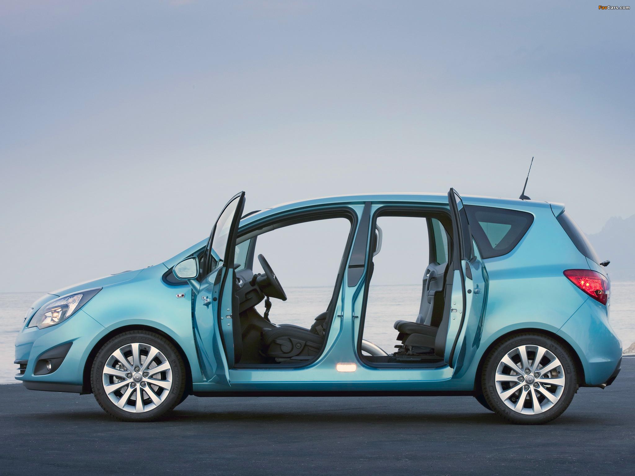 Opel Meriva — описание модели