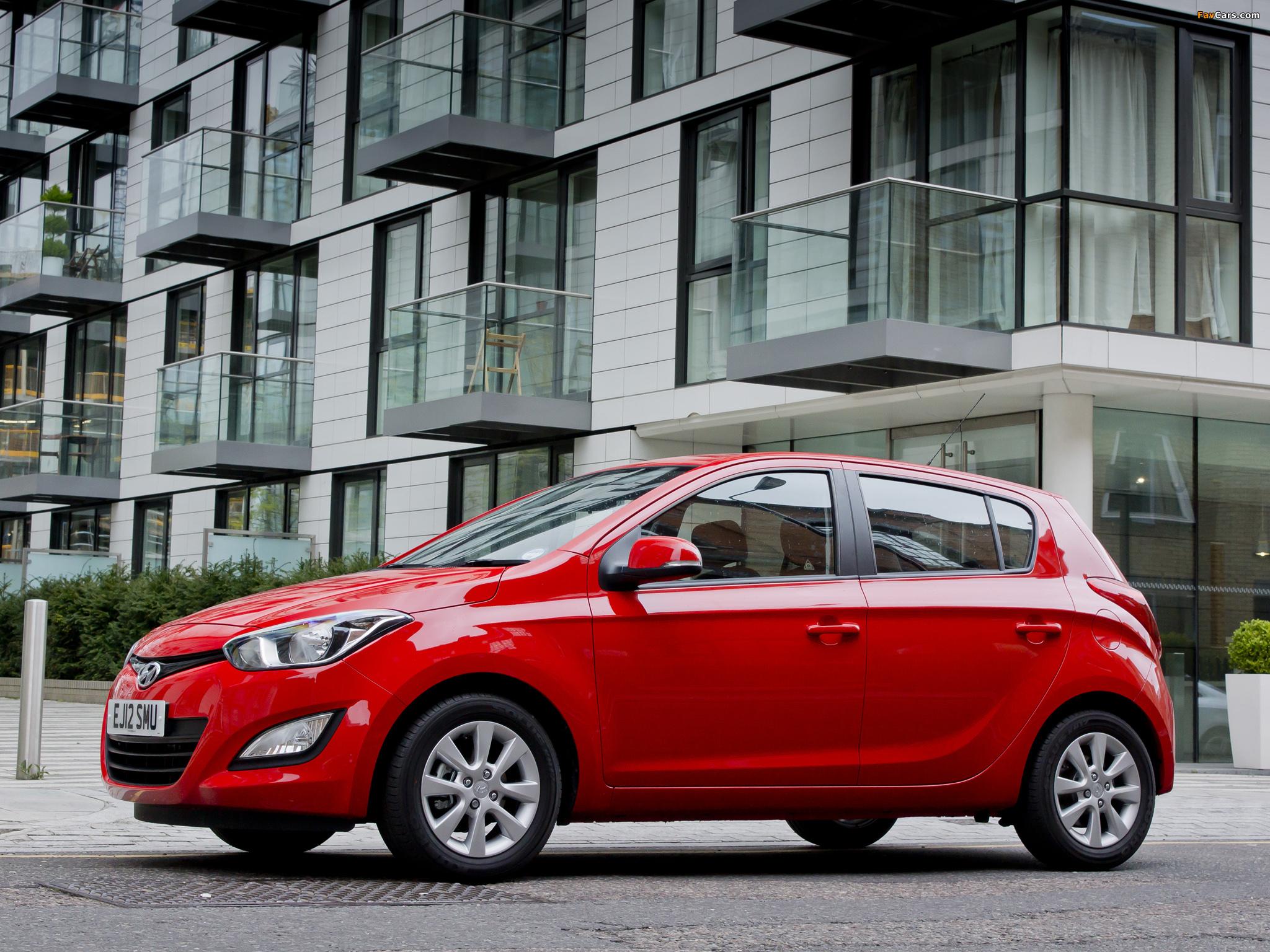 Hyundai i20 — описание модели