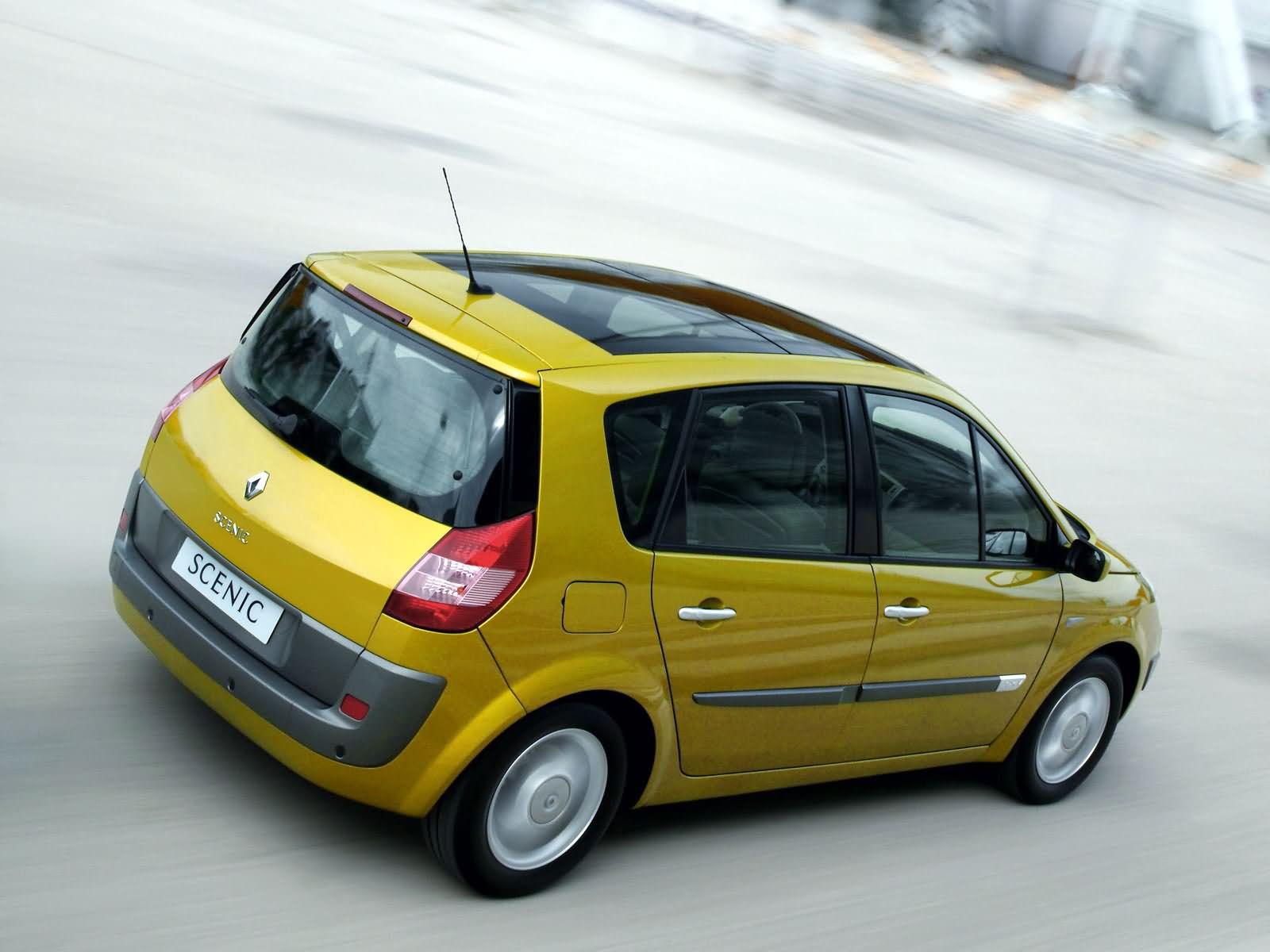 Renault Scenic II — описание модели