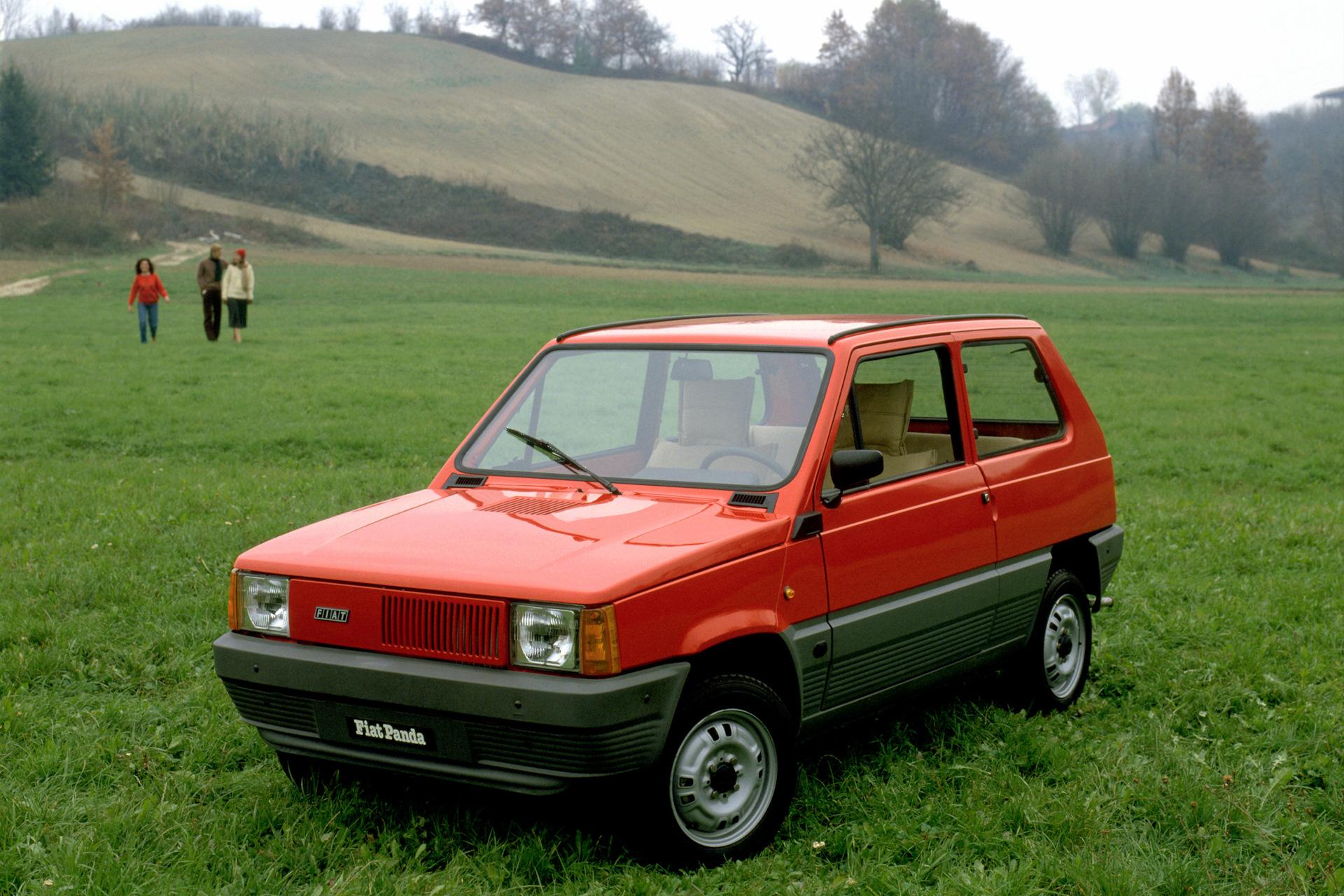 FIAT Panda II (169) — описание модели