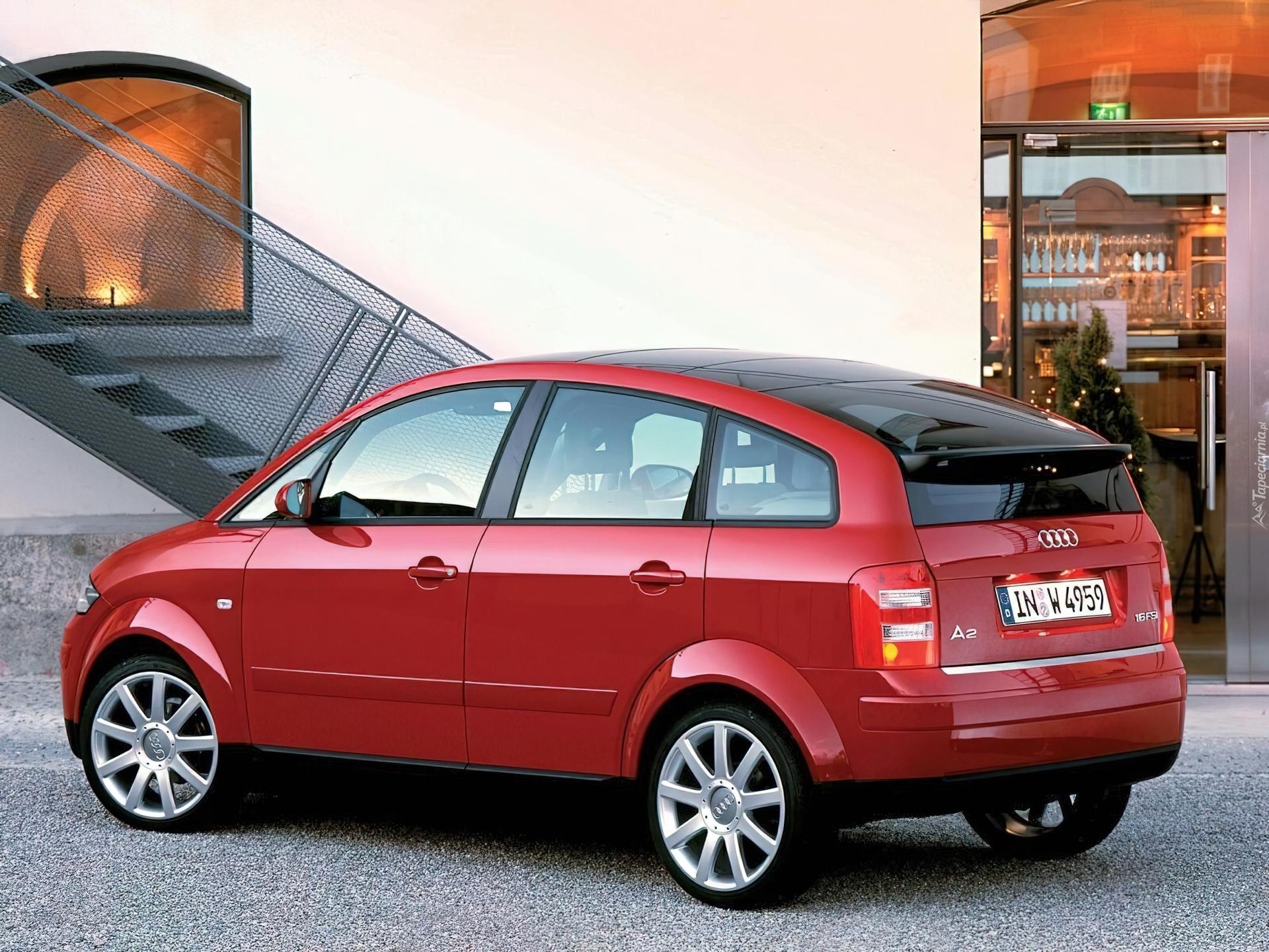 Audi A2 — описание модели