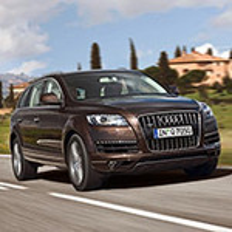 Audi Q7 — описание модели фото