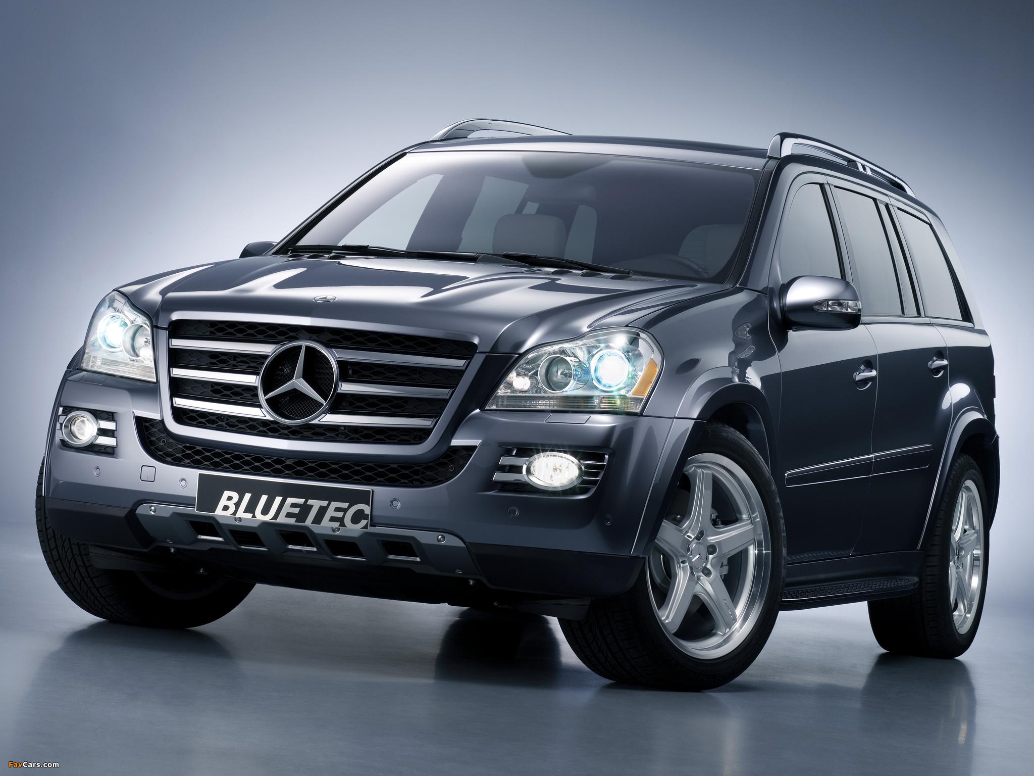 Mercedes-Benz GL-Class (X164) — описание модели
