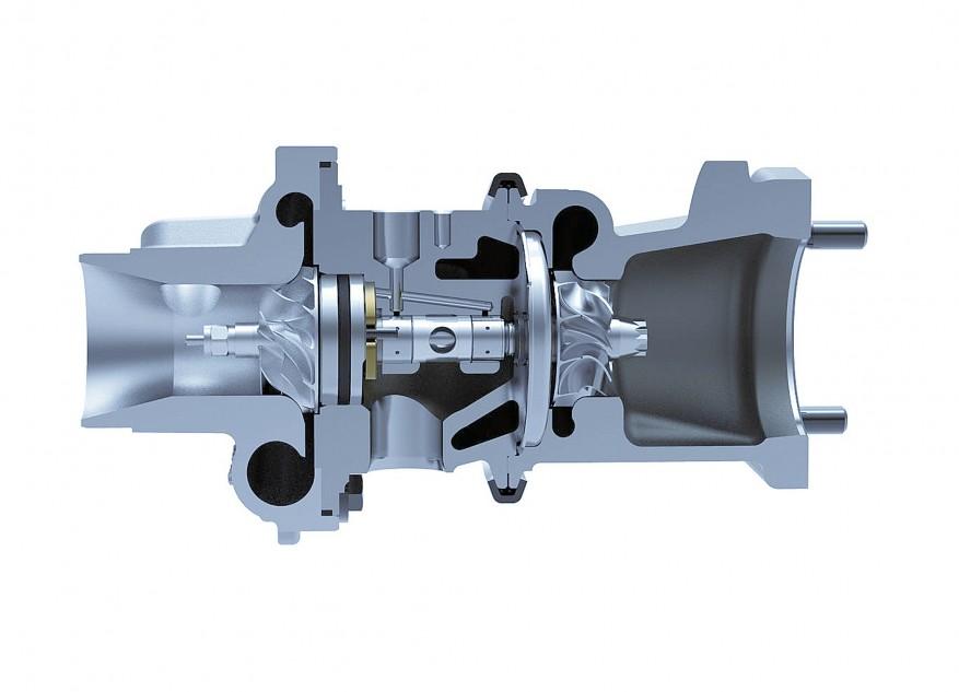 Турбированный бензиновый двигатель