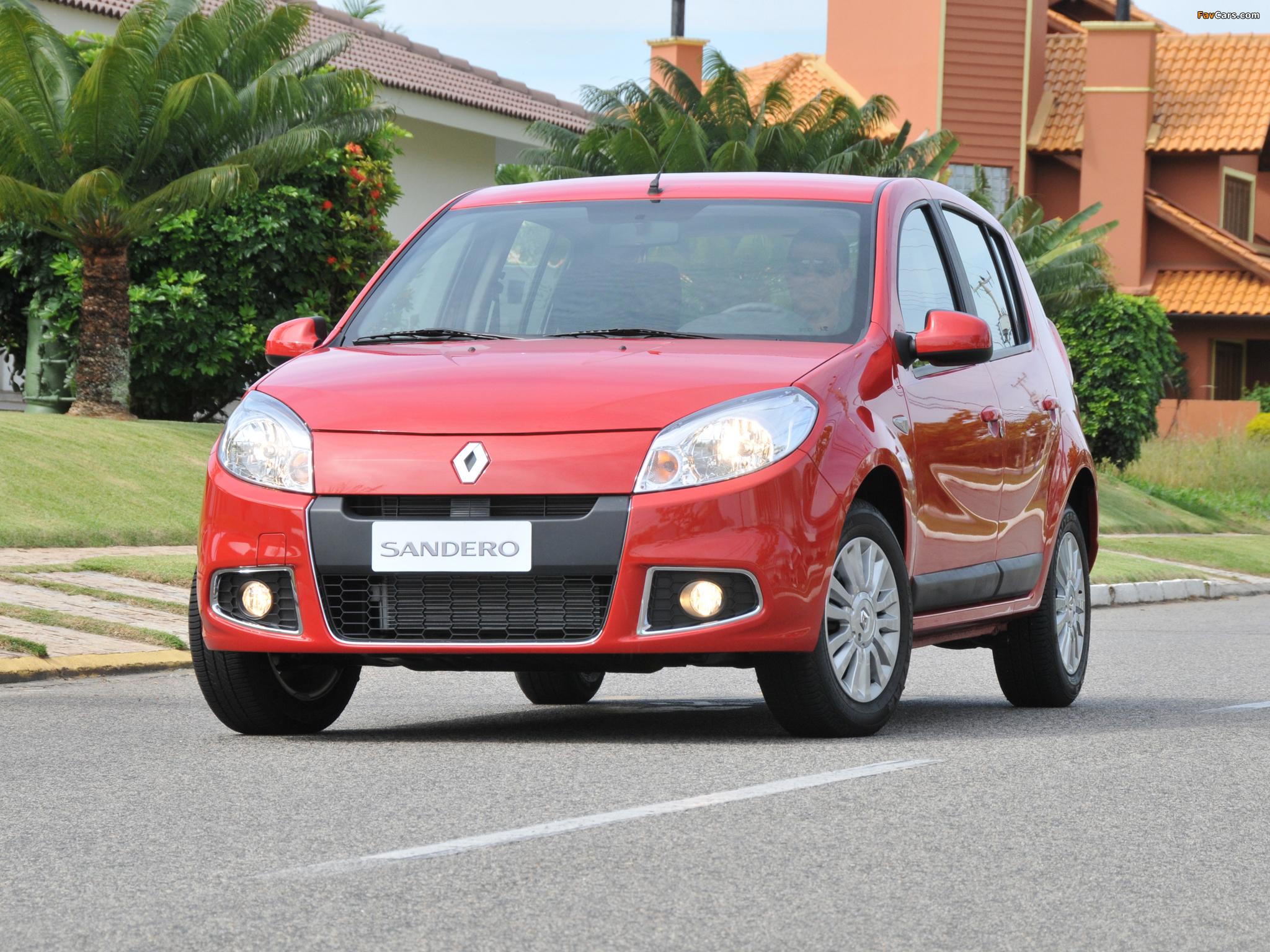 Renault Sandero — описание модели