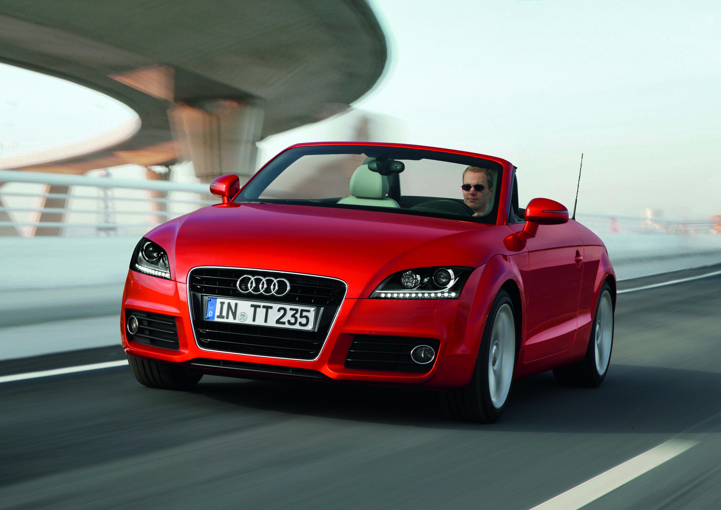 Audi TT (8J) — описание модели