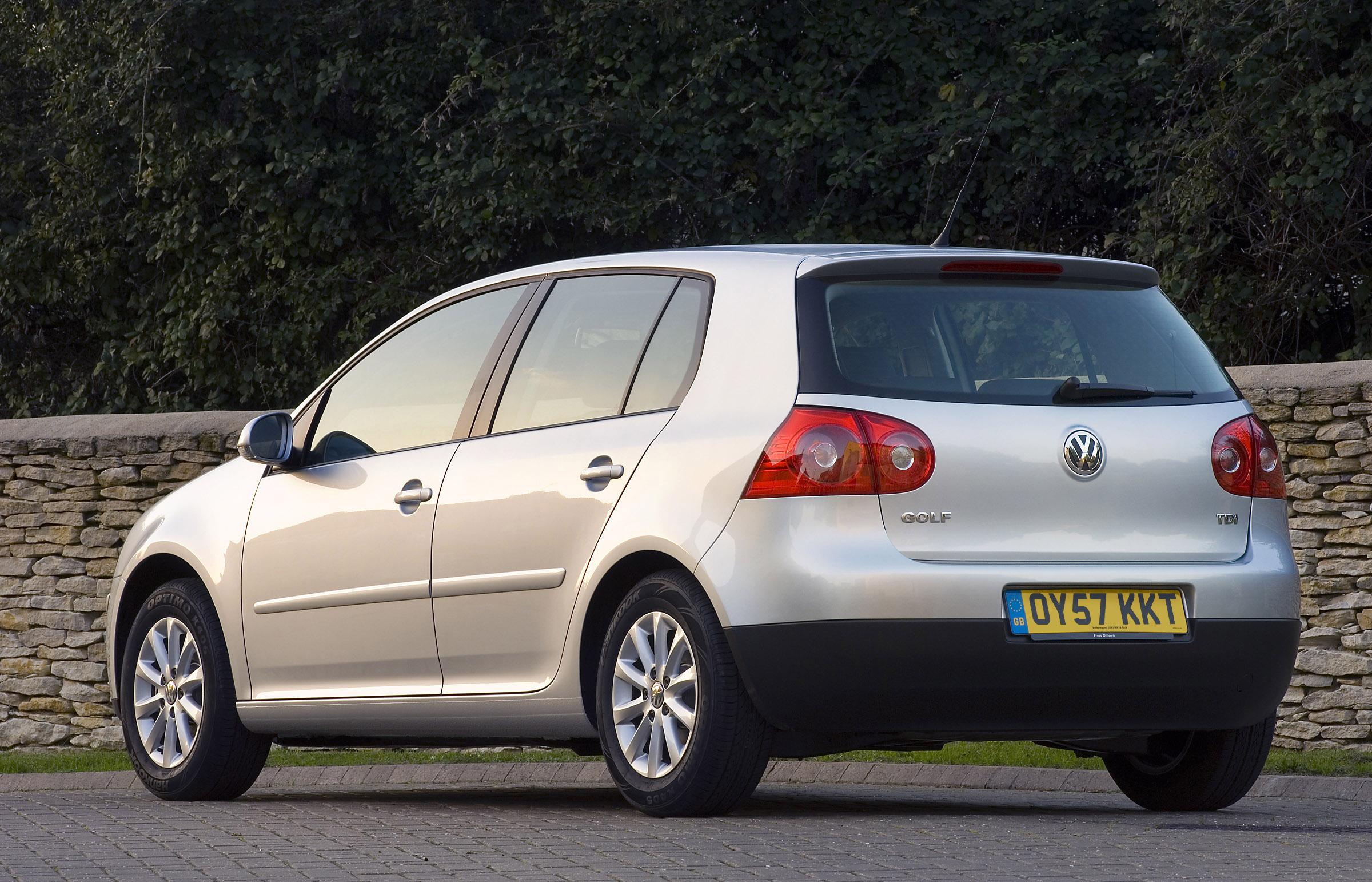 Volkswagen Golf V-VI — описание модели