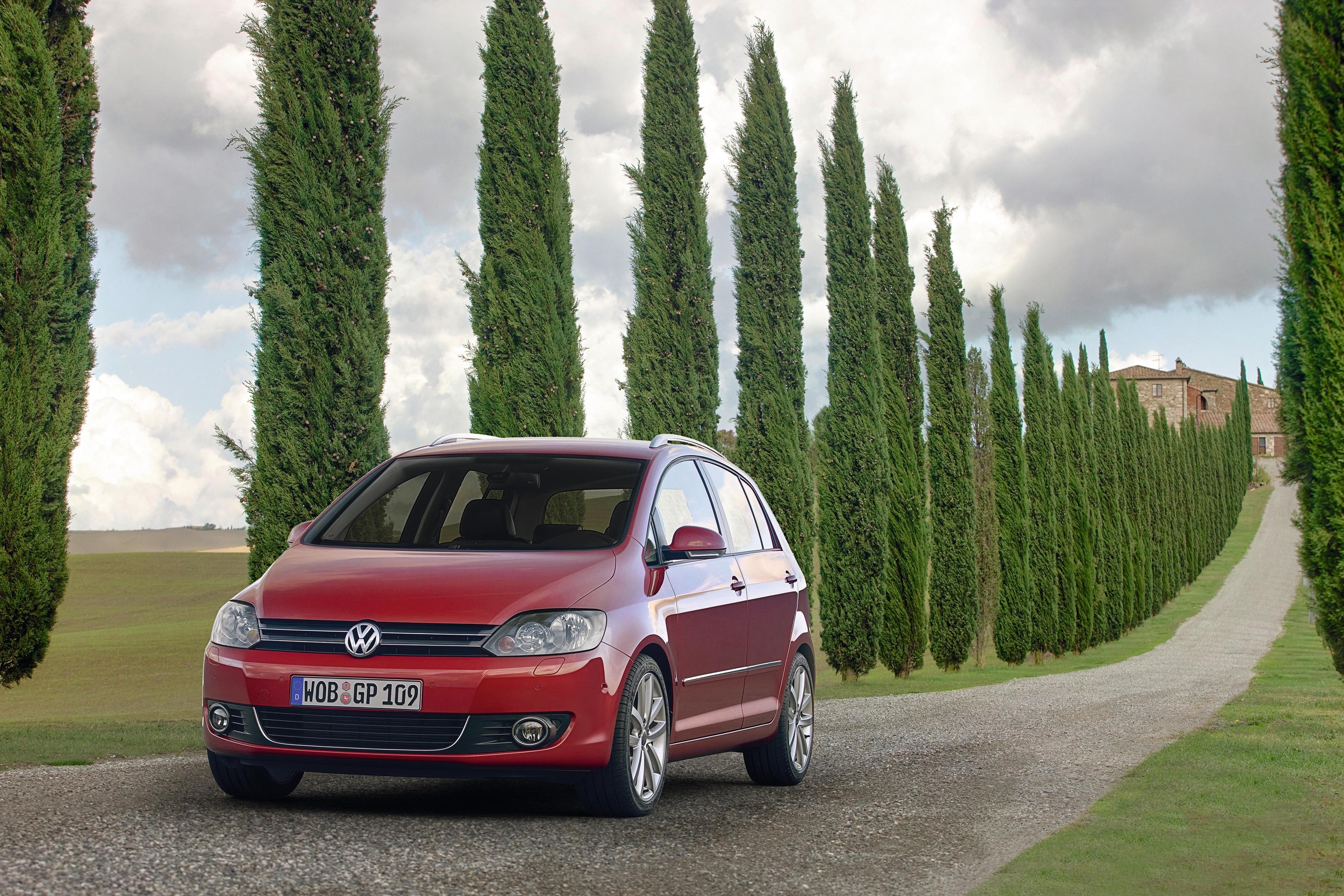Volkswagen Golf Plus — описание модели