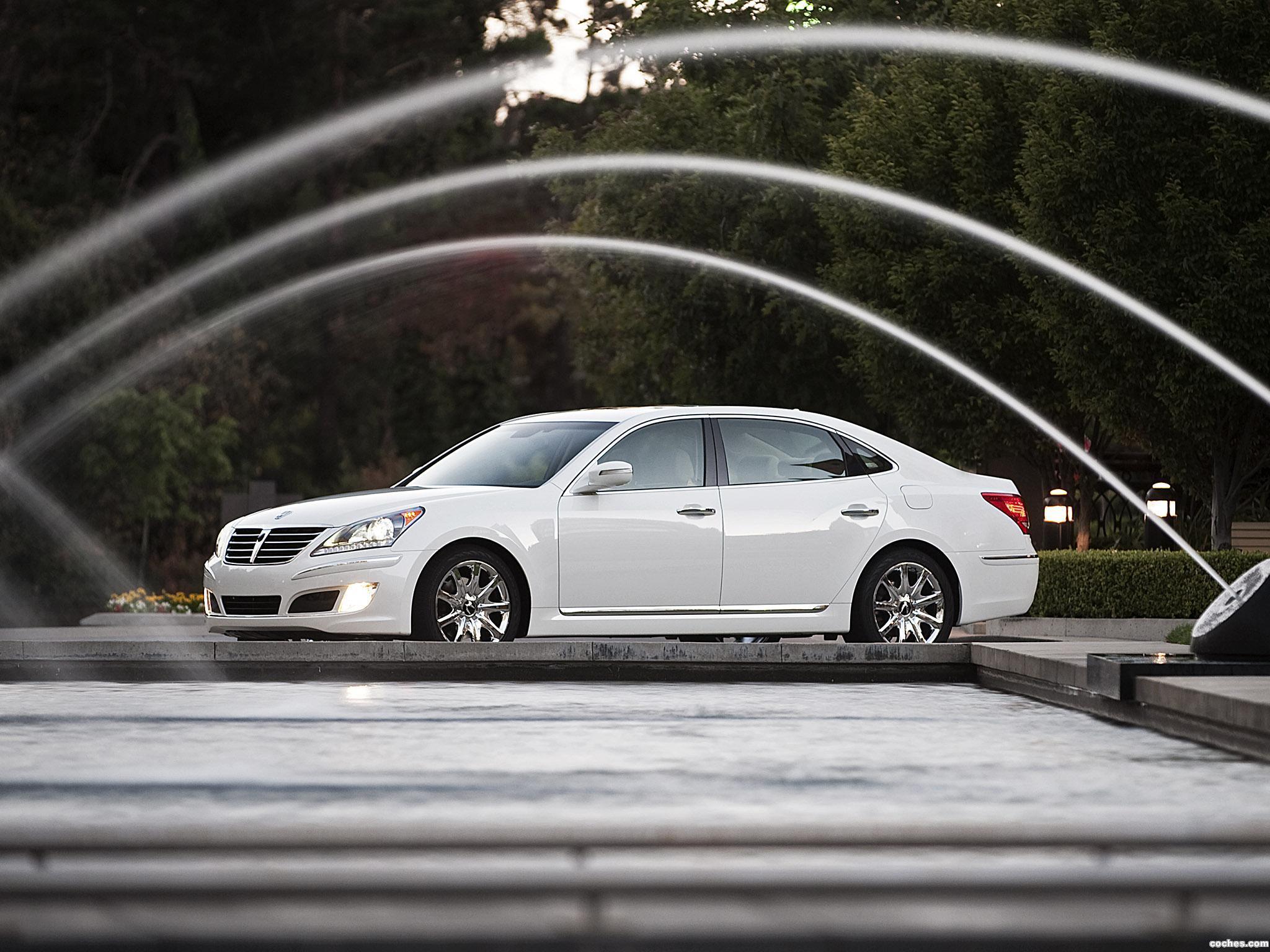 Hyundai Equus — описание модели