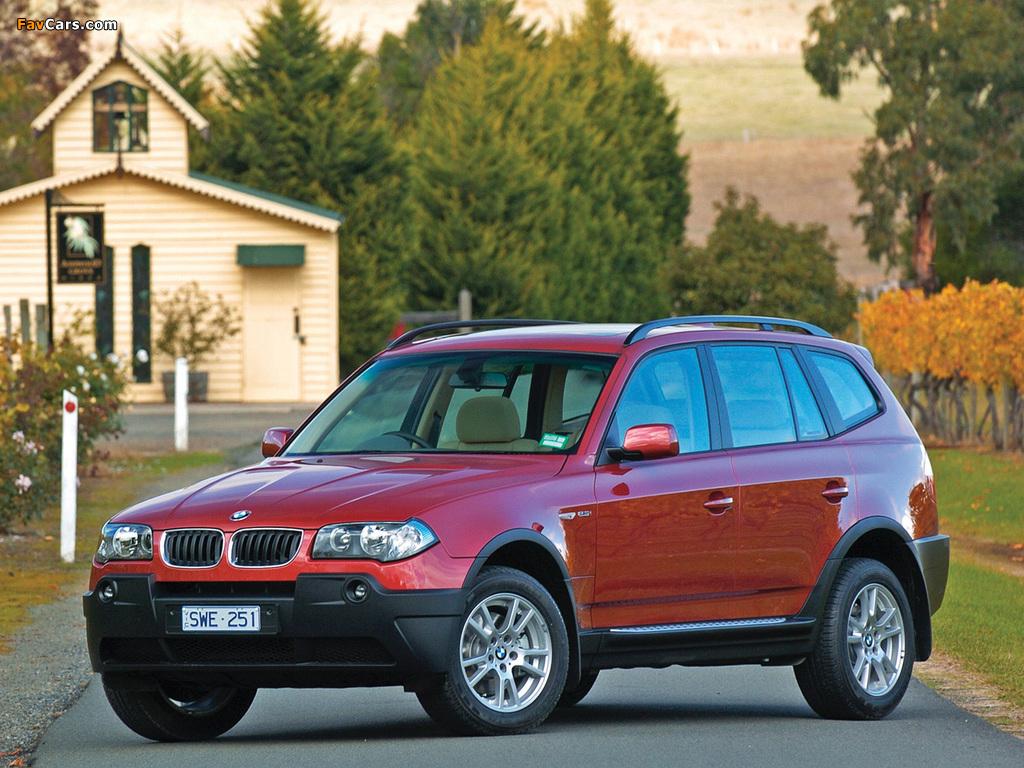 BMW X3 (E83) — описание модели