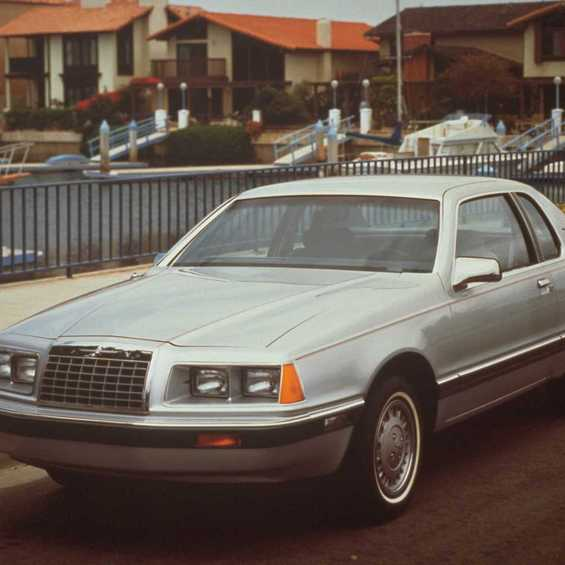 Ford Thunderbird 1984