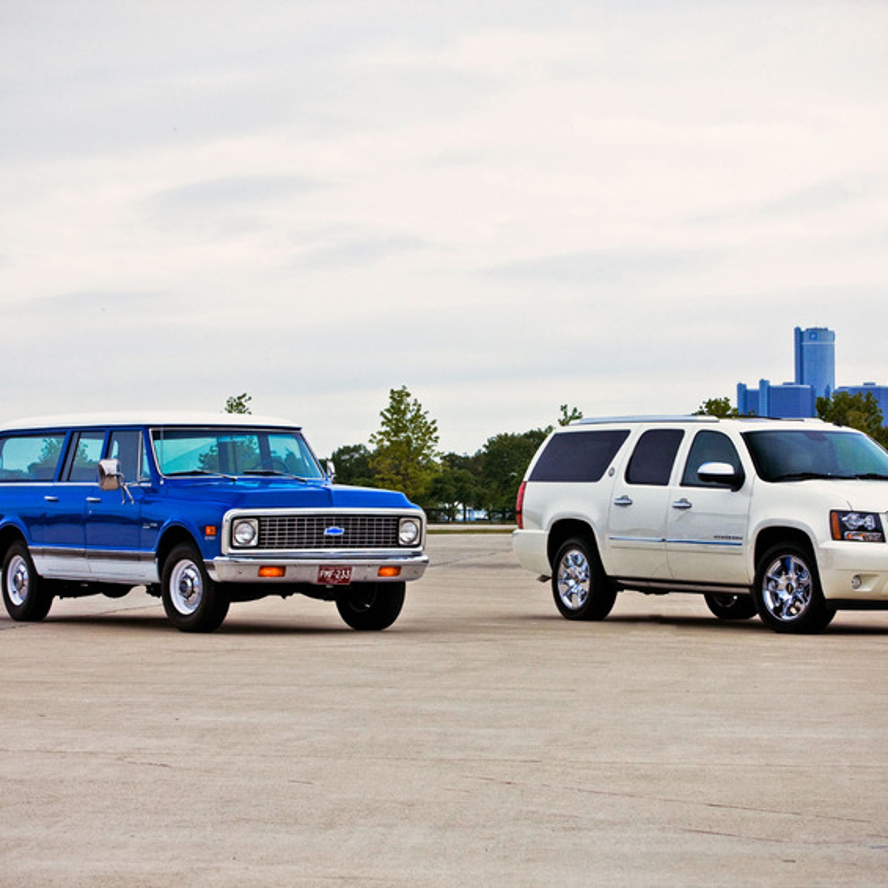 Chevrolet Suburban 1972 & 2010