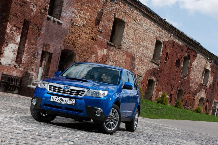 Subaru Forester III - Описание модели