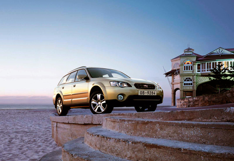Subaru Outback III - описание модели