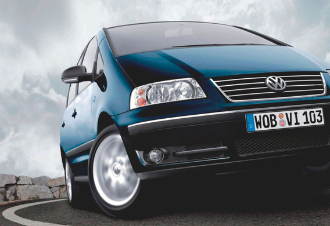Volkswagen Sharan - описание модели