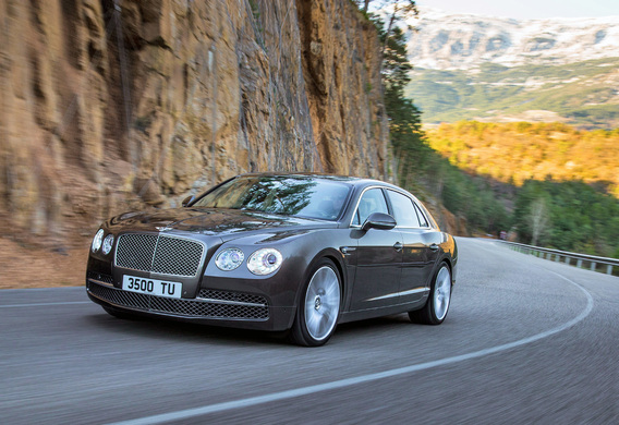 Bentley Continental Flying Spur - описание модели