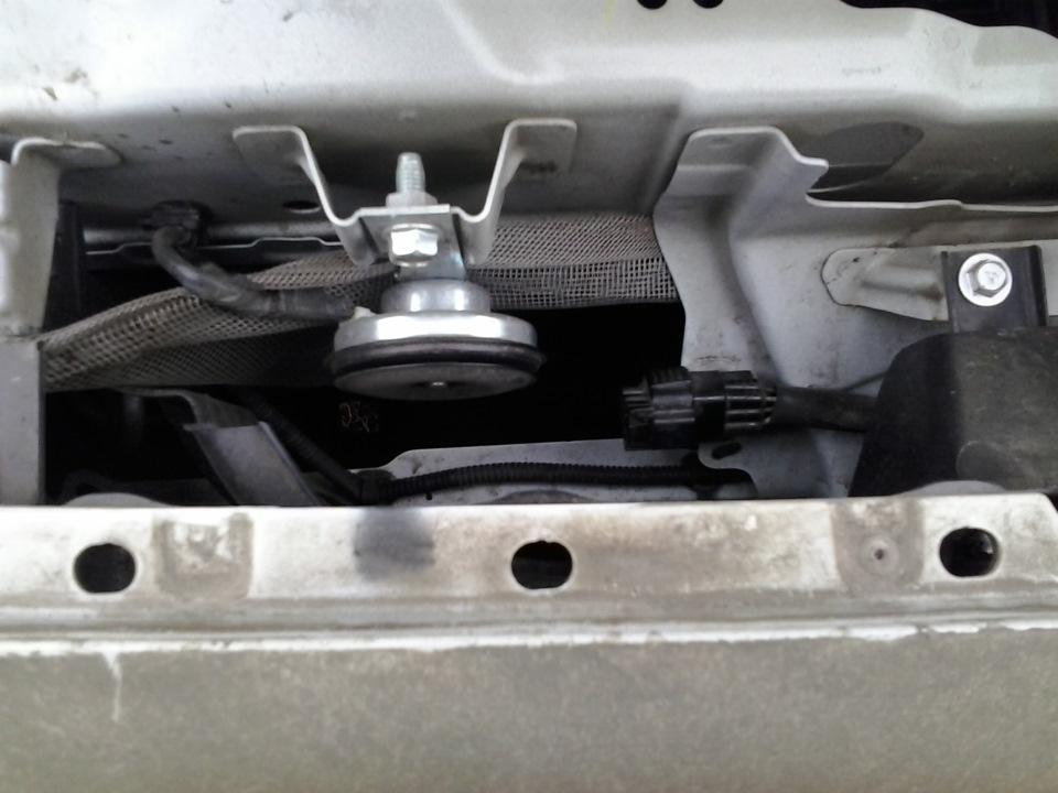 Замена звукового сигнала на Mitsubishi ASX