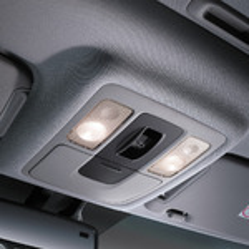 Демонтаж плафона освещения салона Mitsubishi ASX фото