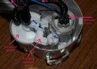 Где находится топливный фильтр Opel Astra H