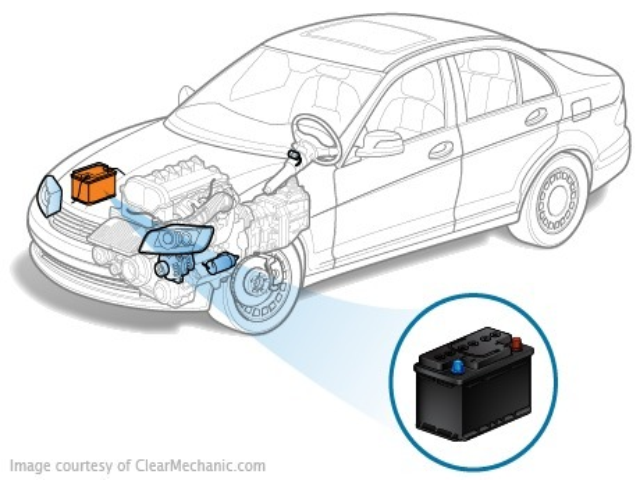 Маркировка аккумуляторных батарей Mitsubishi ASX