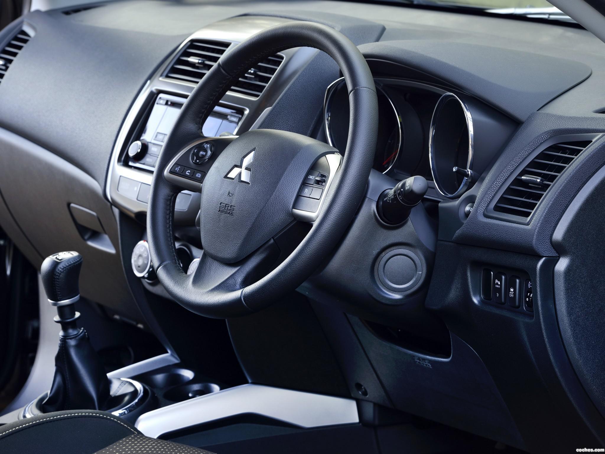 Установка кнопок управления аудиосистемой и круиз-контролем на руль Mitsubishi ASX