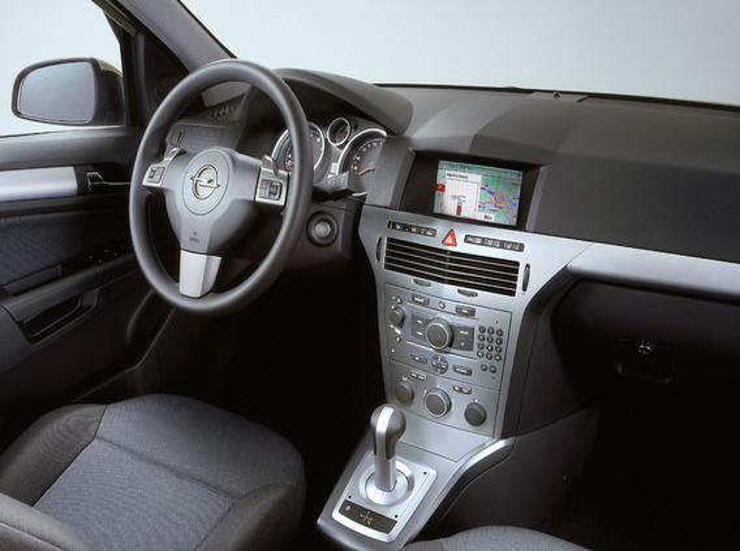 Активация бортового компьютера Opel Astra H