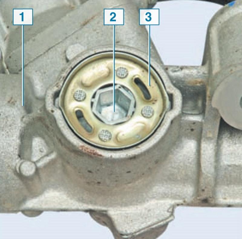 Как проверить люфт рулевого колеса на Renault Sandero фото
