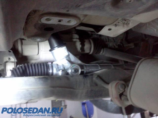 Посторонние звуки в районе рулевой колонки VW Polo Sedan