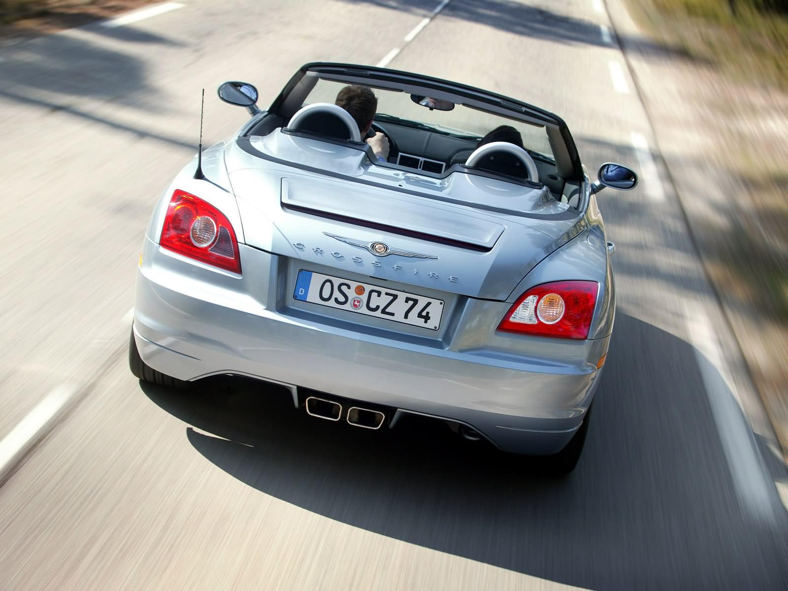 Chrysler Crossfire — описание модели