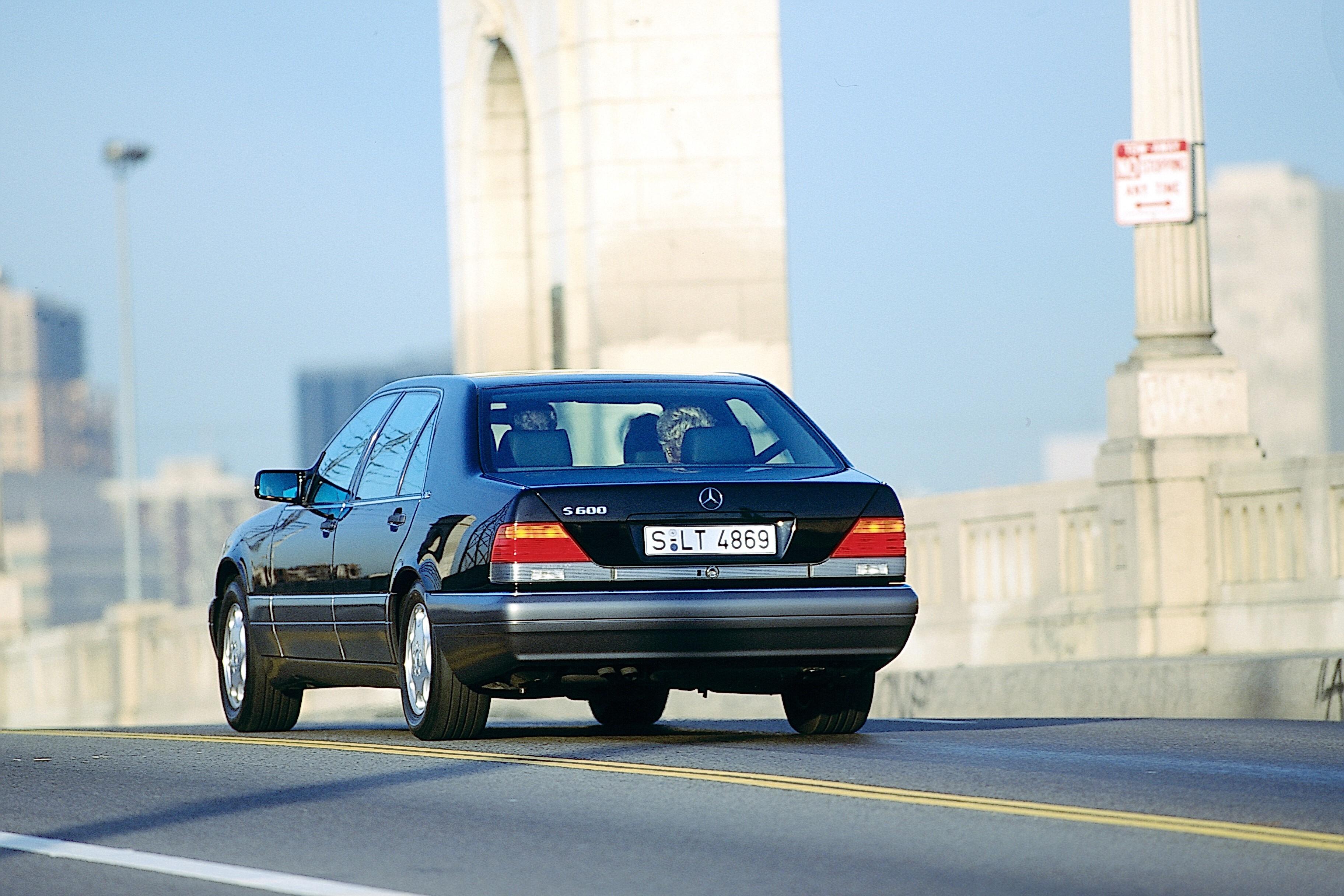 Mercedes-Benz S600 (W140) — легендарная модель