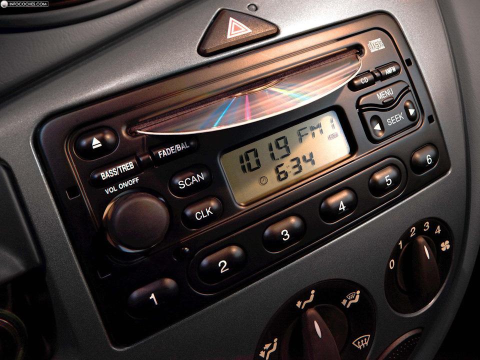 Возможные проблемы штатных магнитол 6000CD и Sony на Ford Focus 2