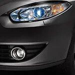 Декоративная окантовка противотуманных фар Mitsubishi Outlander XL фото